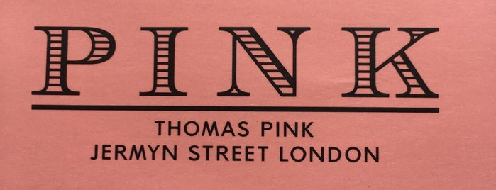 Thomas Pink is one of Dmitri 님이 좋아한 장소.
