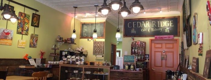 Cedar Ridge Cafe is one of South Orange.