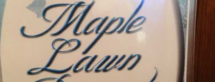 Maple Lawn Family Resturant is one of Best places to go in Mark Twain Country!.