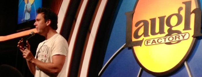 Laugh Factory is one of Entertainment & Night Life.