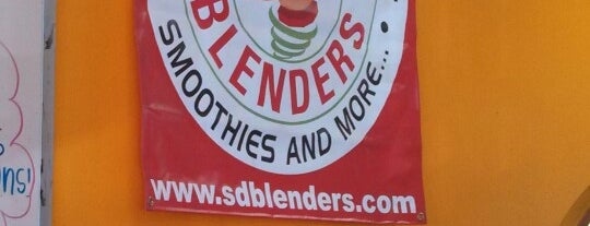 San Diego Blenders is one of Juice Bars Cali.