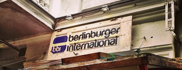 Berlin Burger International is one of N.'ın Kaydettiği Mekanlar.