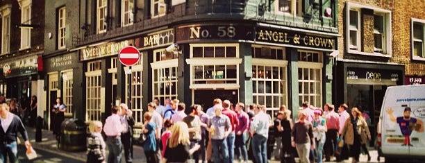 Angel & Crown is one of London.