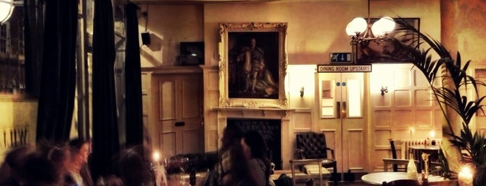 William IV Pub is one of London's Best Pubs (voted by Londonist readers).