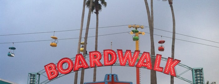 Santa Cruz Beach Boardwalk is one of Locais curtidos por Brian.