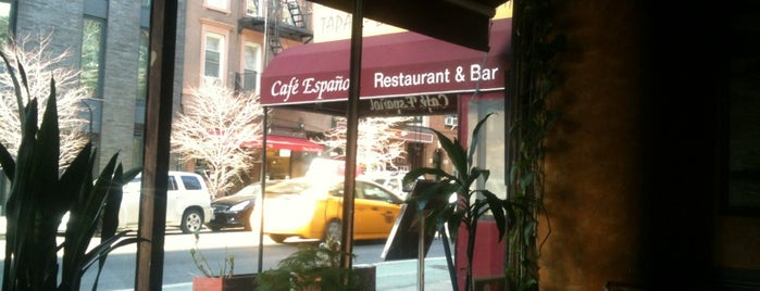 Cafe Espanol is one of Restaurants.