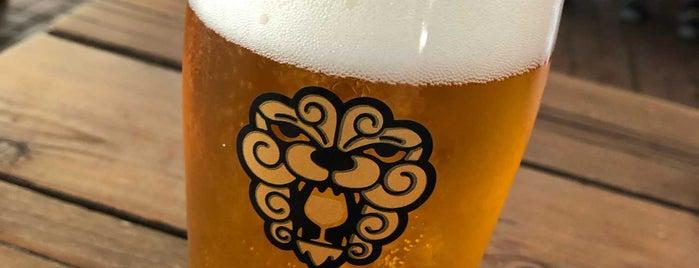 Little Beast Brewing Beer Garden is one of สถานที่ที่บันทึกไว้ของ Eric.
