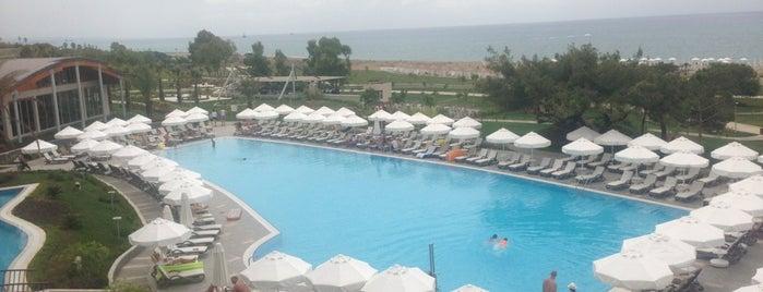 Barut Hotels Sensatori is one of Tempat yang Disukai Süleyman.
