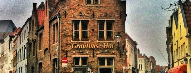 Gruuthuse Hof is one of Brugges.