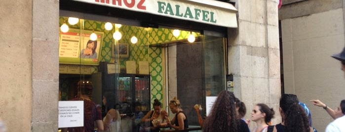 Maoz Vegetarian is one of BCN Eats.