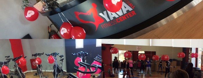 Yava Fitness Center is one of สถานที่ที่ иона ถูกใจ.
