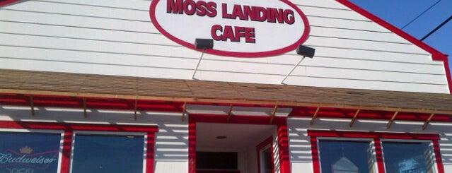 Moss Landing Cafe is one of Cassie 님이 좋아한 장소.