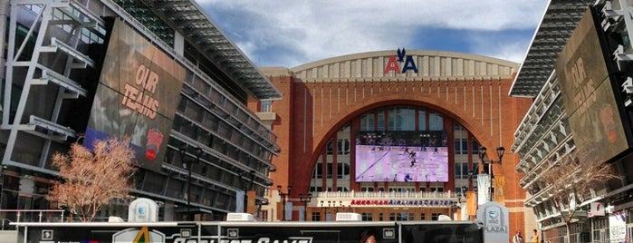 American Airlines Center is one of Stadiums.
