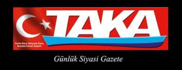 Taka Gazetesi is one of Trabzon.