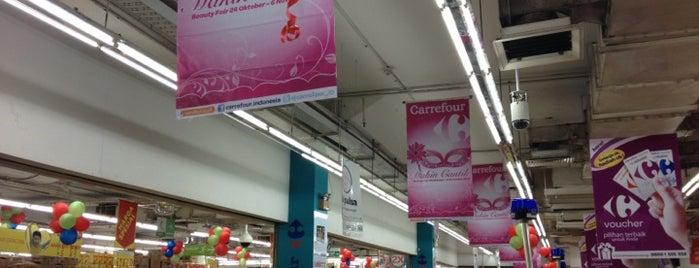 Transmart Carrefour is one of สถานที่ที่ Safira ถูกใจ.