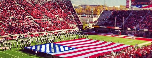 Rice-Eccles Stadium is one of FBS Stadiums.
