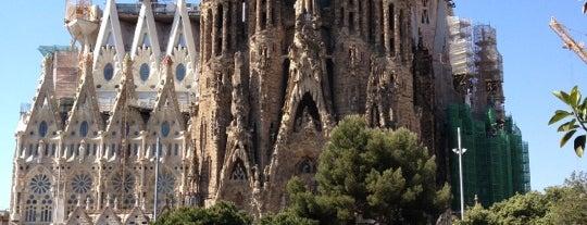 Sagrada Família is one of Lugares donde estuve en el exterior.