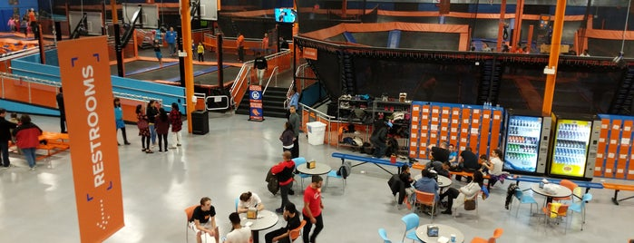 Sky Zone is one of Venues, Entertainment & Live Music / DJ.
