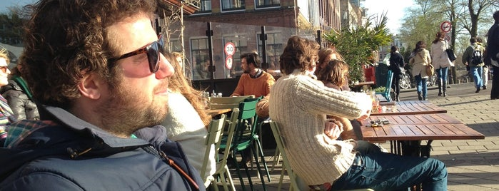 Café BinnenBuiten is one of Z☼nnige terrassen in Amsterdam❌❌❌.