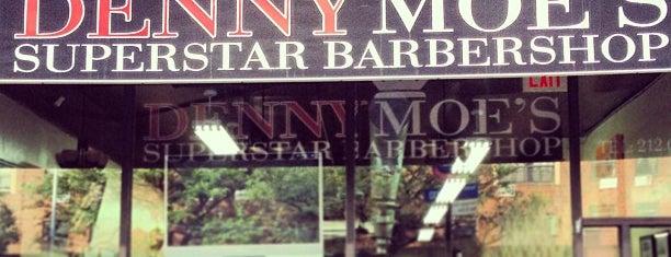Denny Moe's Superstar Barbershop is one of New York.