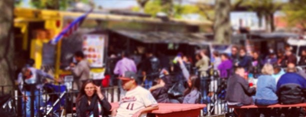 Red Hook Ballfield Food Vendors is one of Elsewhere In Brooklyn....