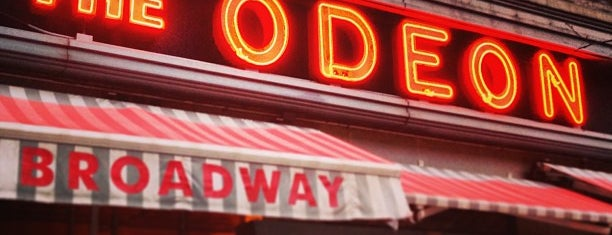 The Odeon is one of Food.