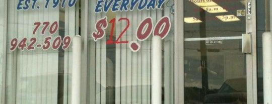 Jenkins Barber Shop is one of Douglasville & Villa Rica.