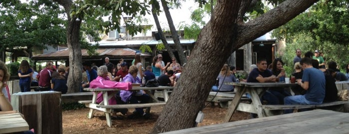 Gristmill River Restaurant & Bar is one of Best BBQ in Texas!.