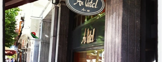 Au Vatel is one of My Bruxelles's best spots.