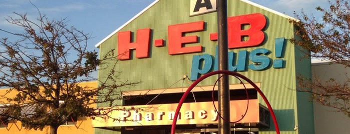 H-E-B plus! is one of Bars carrying Leprechaun Ciders: Houston.