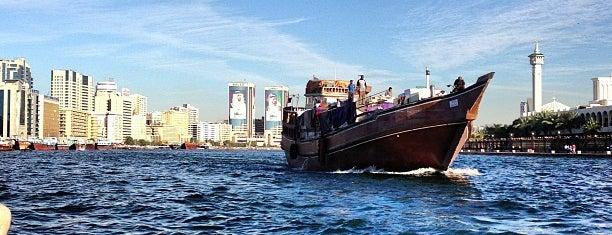 Bur Dubai Marine Transport Station is one of Lugares favoritos de Marcelle.