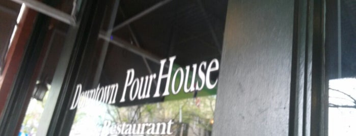 Downtown PourHouse is one of CLUBS AND BARS.