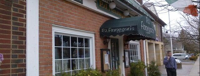 P.J. Finnegan's is one of Lizzie: сохраненные места.
