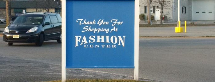 Fashion Center is one of New Jersey Shopping Malls.