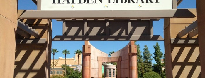 Hayden Library is one of Orte, die Samet gefallen.