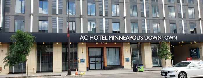 AC Hotel Downtown Minneapolis is one of Mpls Sat.