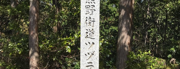 ツヅラト峠 is one of 熊野古道 伊勢路.