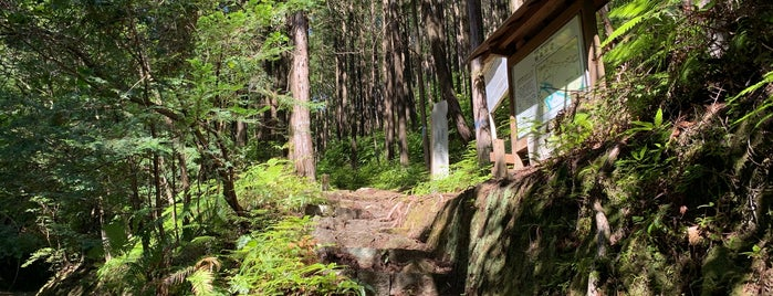 羽後峠 is one of 熊野古道 伊勢路.