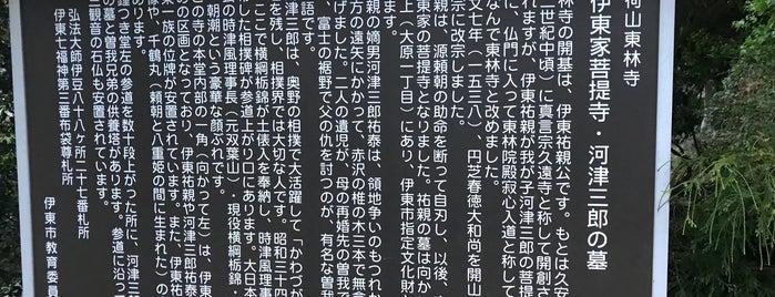 東林寺 is one of 伊豆.