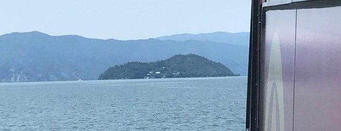 竹生島クルージング is one of สถานที่ที่ Shigeo ถูกใจ.