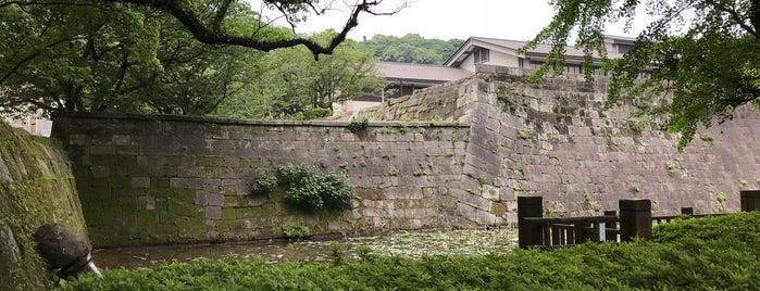 鶴丸城二之丸跡 is one of 西郷どんゆかりのスポット.