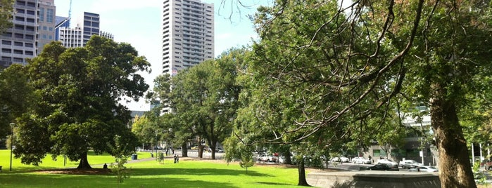 Flagstaff Gardens is one of Melbourne 3000.