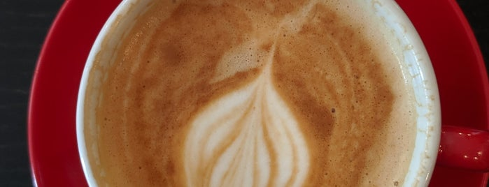 The Little Red Roaster is one of Norfolk Coffee.