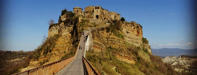 Civita di Bagnoregio is one of italy.