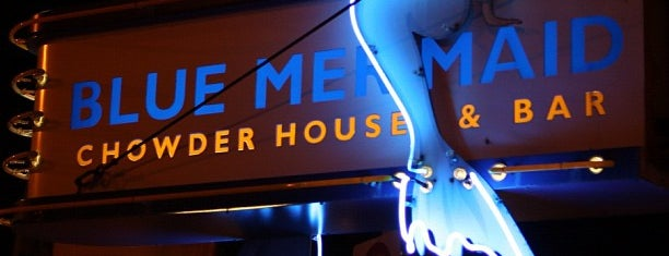 Blue Mermaid Chowder House & Bar is one of Adventures in Dining: USA!.