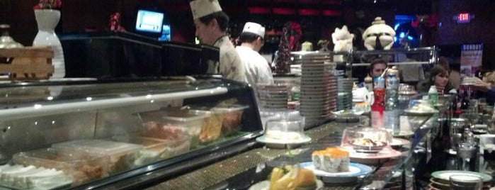 Kiku Japanese Steak & Sushi is one of ATL.