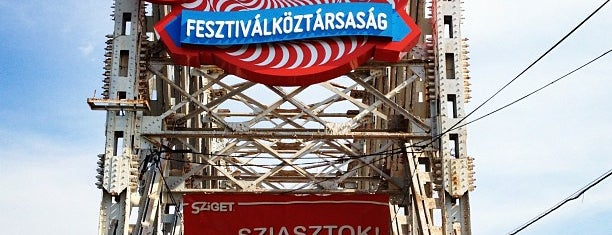 Sziget Festival is one of Locais curtidos por Inta.