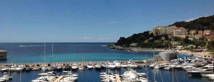 Port de Cap d'Ail is one of Monaco.
