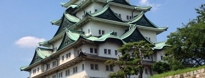 Nagoya Castle is one of Locais salvos de Hide.