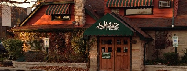 Lou Malnati's Pizzeria is one of Chicago Part II.